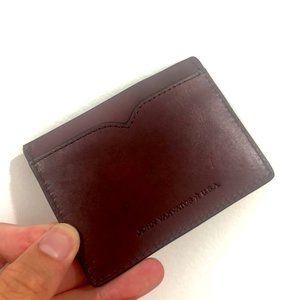 John Varvatos Collection Card Wallet